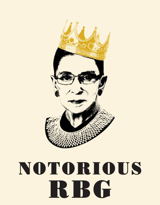 Happy Birthday Supreme Court Justice Ruth Bader Ginsburg aka the