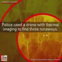 Deputies use drone, thermal imaging to find teen runaways