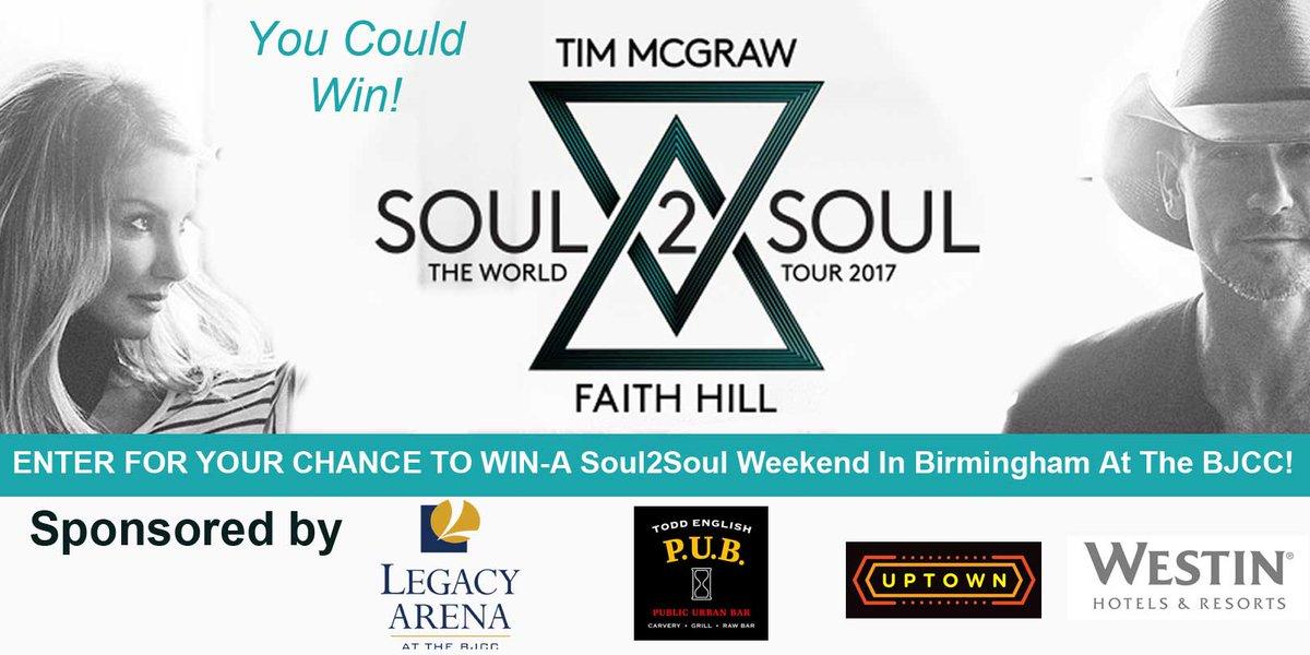 RT @BJCC: CONTEST TIME! #Soul2Soul Weekend @inbirmingham! Details here: https://t.co/KaejScfvEk https://t.co/I43LSgT7vt