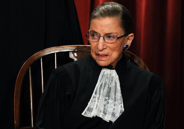 Happy birthday to Ruth Bader Ginsburg. 84 ans aujourd\hui