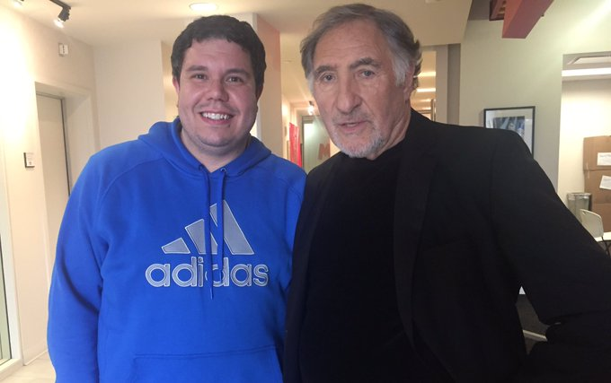 Happy birthday to the hilarious Judd Hirsch! Loving on CBS!