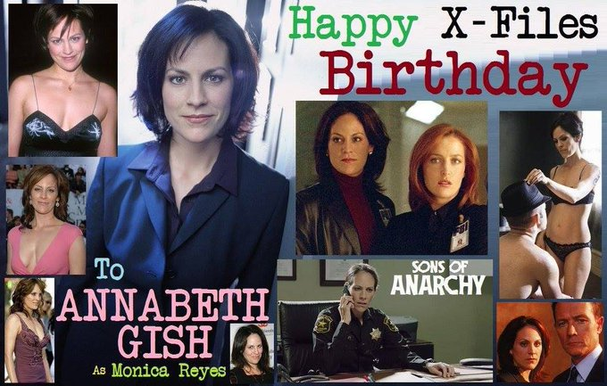 3-13 Happy birthday to Annabeth Gish.