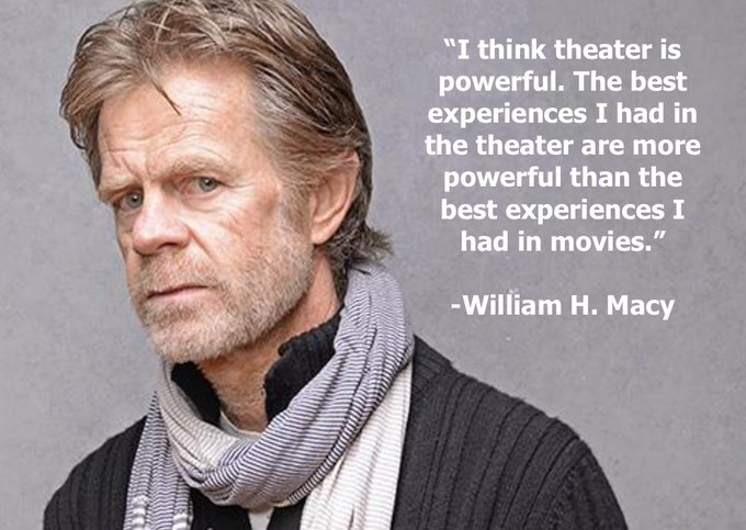 What is your favorite medium? Happy Birthday William H Macy from Cast It Talent!