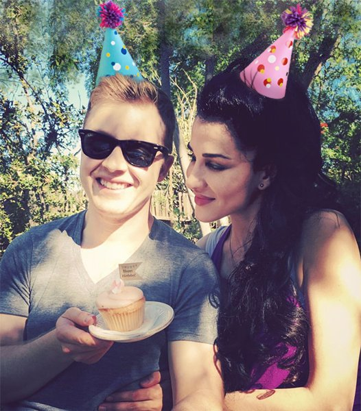Happy Birthday . Enjoy your cupcakes! Thankyou for being a talented & lovely human.