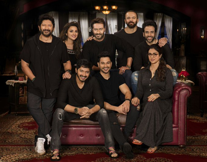 The gang is back again, Golmaal family. happy birthday Rohit Shetty