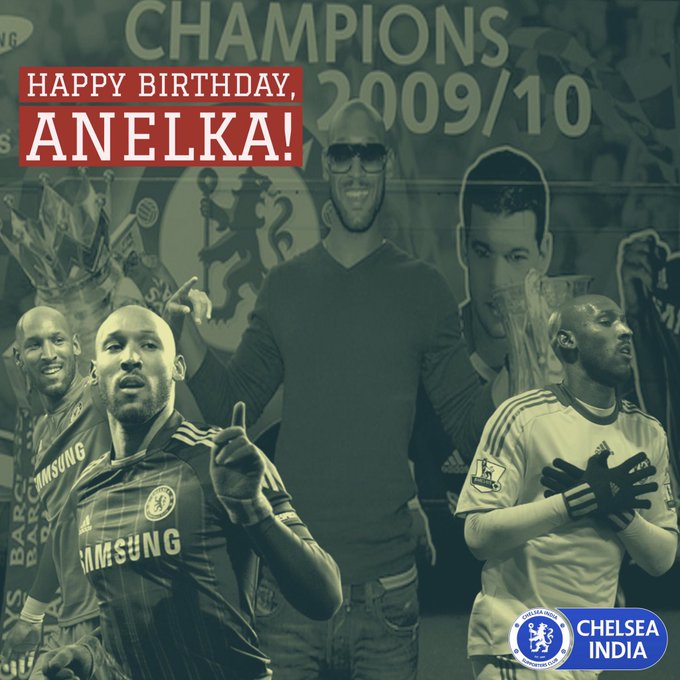 We wish a very happy birthday to former Blue Nicolas Anelka!