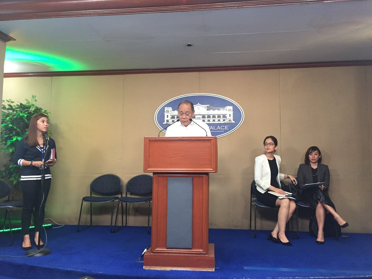 Presidential spokesperson abella holds briefing with climate change presidential spokesperson abella holds briefing with climate change commissioner vernice victorio trishamacas https freerunsca Image collections