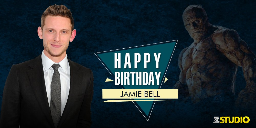 Happy birthday to the fantastic Jamie Bell a.k.a The Thing! Send in your wishes in the comments below.