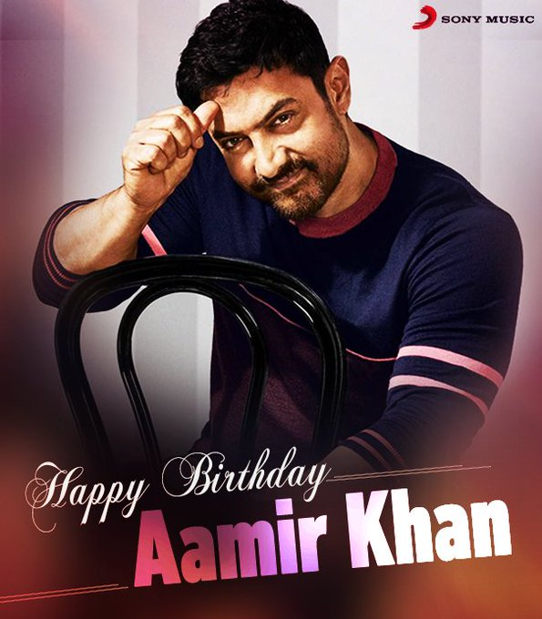 Wishing the versatile Aamir Khan a very Happy Birthday!!!
