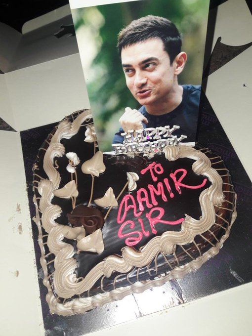 I Cordially wishes to a  very happy birthday to my all time favorite and one superstar AAMIR KHAN.