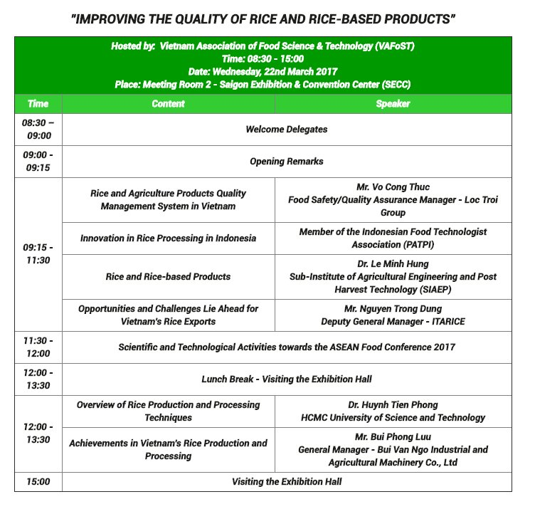 test Twitter Media - Visiting ProPak Vietnam 2017 next week? Have a look at our conference schedule for the show  #packaging #asean #processing #trade https://t.co/sMP04KGaKL