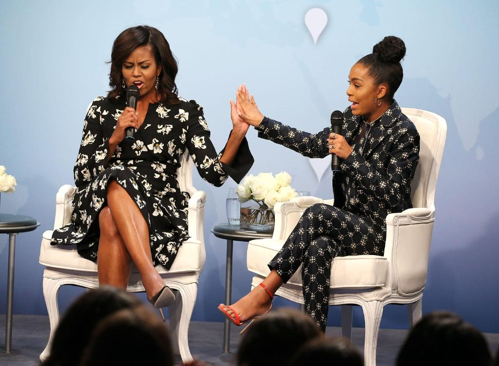 "Michelle Obama wrote college recommendations for ""Black-ish"" star:"