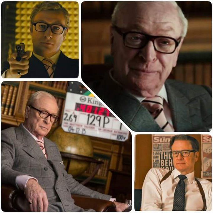 "COLIN FIRTH ADDICTED HAPPY BIRTHDAY, ""MICHAEL CAINE\"" ^^"