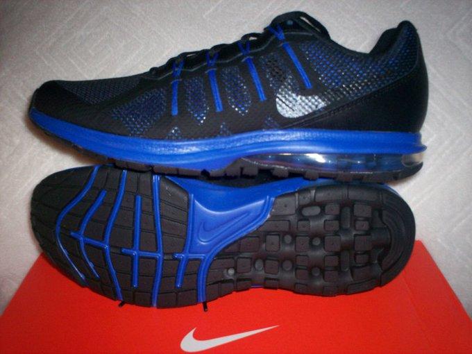 #fashion #style #giveaway Mens Nike Air Max Dynasty NIB Size 10 Black/Blue 816747-004 Running Shoe #rt