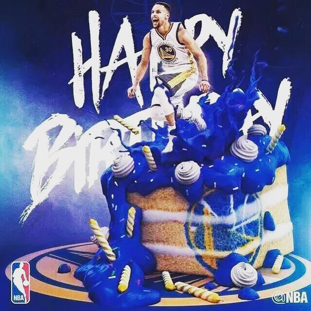 Happy Birthday to three genius.Stephen Curry 30