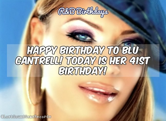 A happy 41st birthday to BLU CANTRELL!!