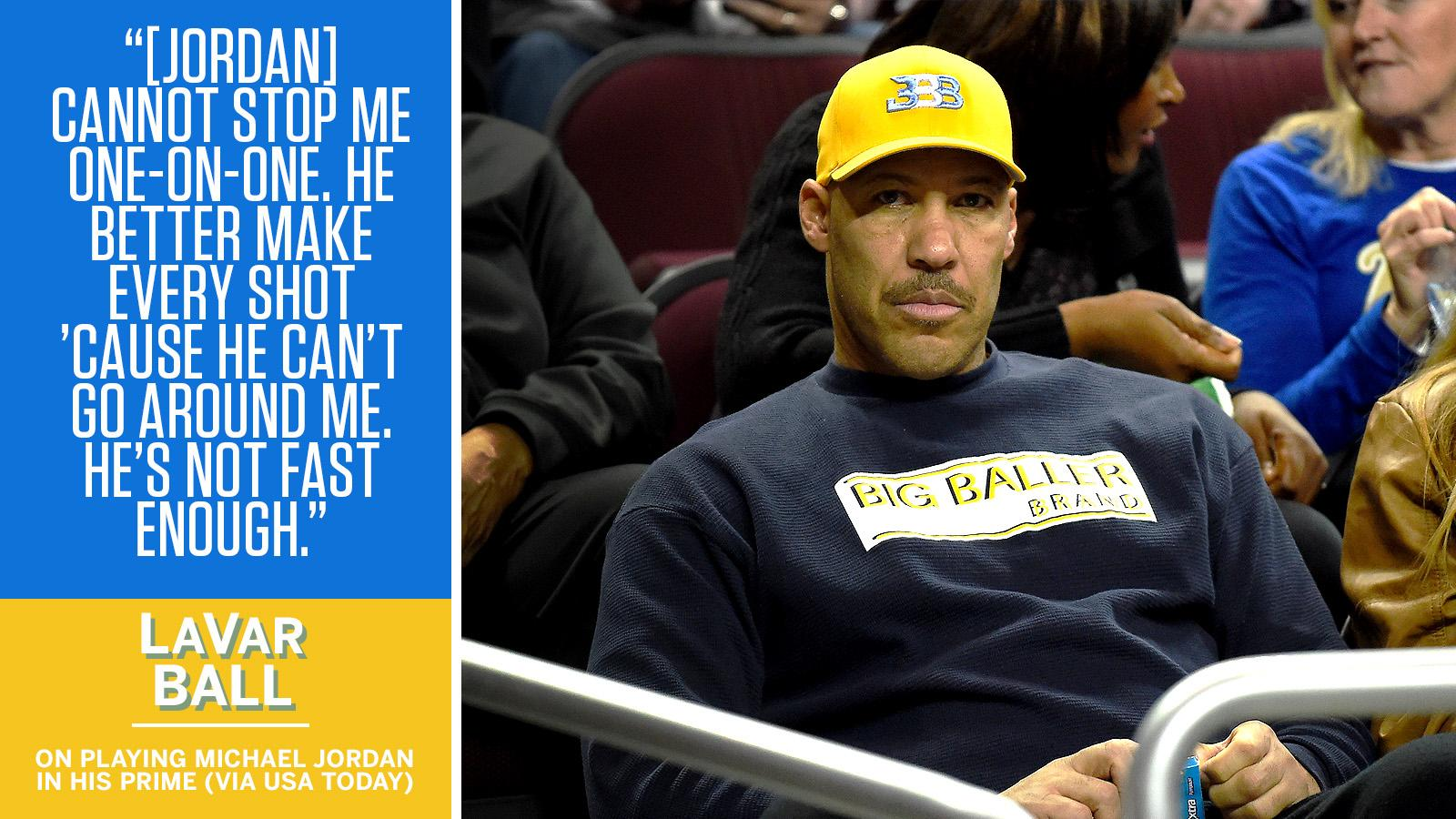 LaVar Ball has yet another hot take.   https://t.co/Mg0uppQych https://t.co/gFVKMFYRFe