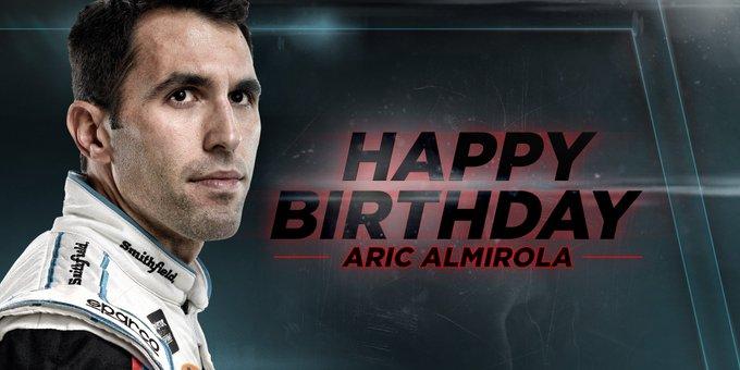 Remessage to help us wish aric_almirola Happy Birthday!