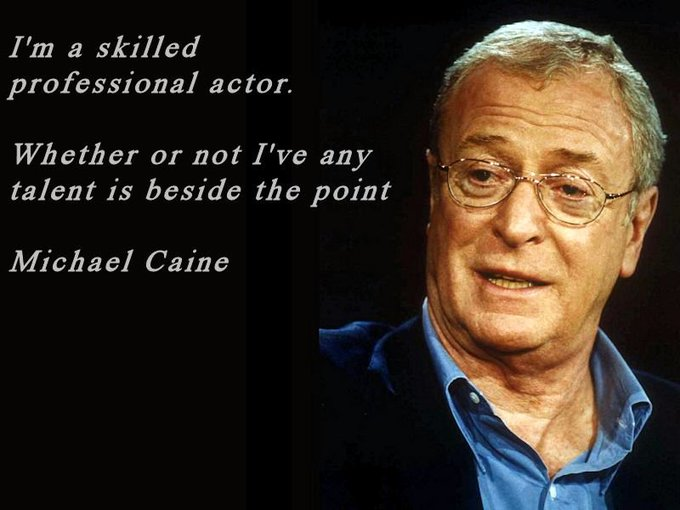 HAPPY BIRTHDAY   Michael Caine
