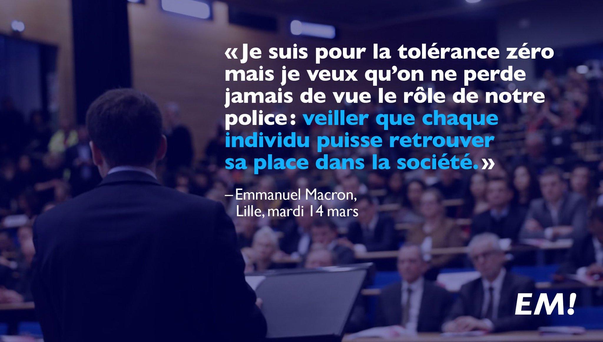 Je suis pour la tolérance zéro, mais il ne faut jamais perdre de vue le rôle de notre police : https://t.co/HknuuG77vo