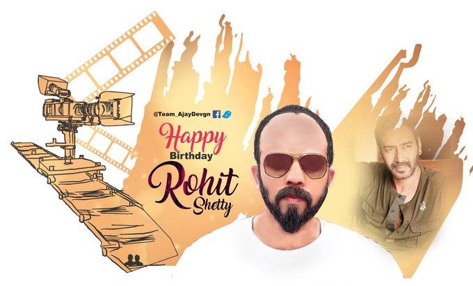 Happy  birthday  to you  Rohit  Shetty