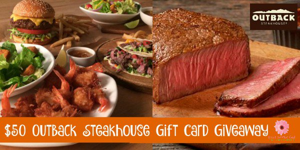 #Win $50 Outback GC!  US ends 4.7 ENTER DAILY!