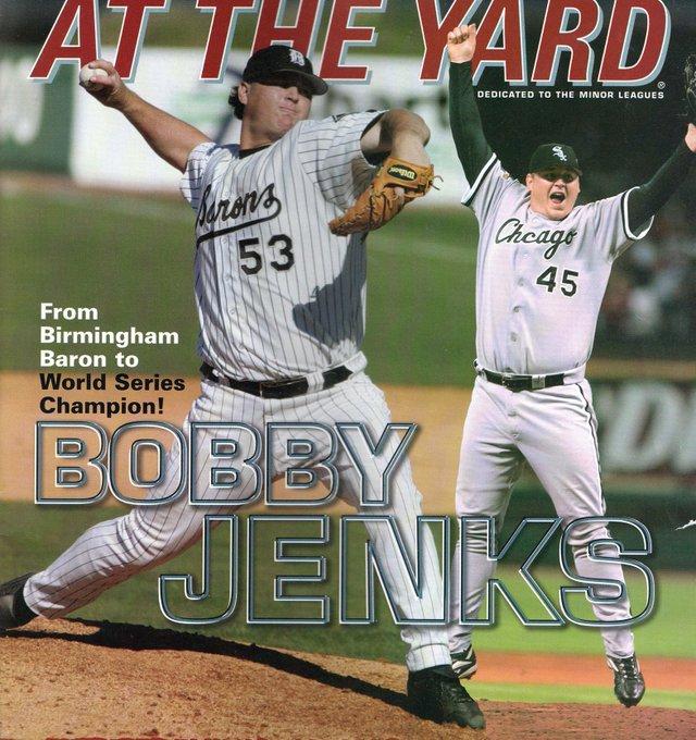 Happy birthday to 2005 Barons relief pitcher Bobby Jenks!