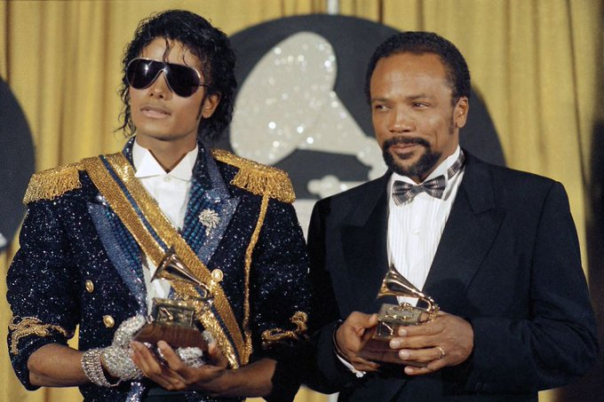 Working with Frank Sinatra or Michael Jackson.. Q, you\re a real legend. Happy birthday Quincy Jones!
