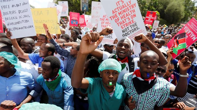 Kenya doctors end 100-day strike after deal with government