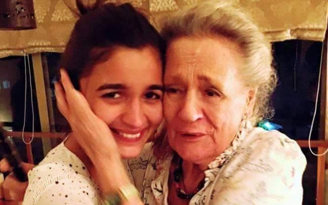 Alia with her grandma happy birthday alia bhatt