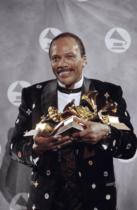 Happy Birthday to Quincy Jones, who turns 84 today!