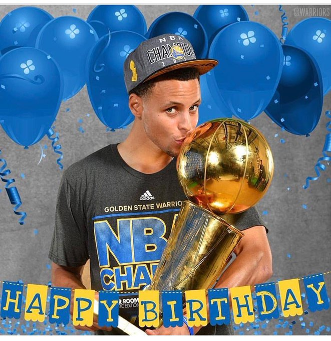 Happy 29th Birthday Stephen Curry!