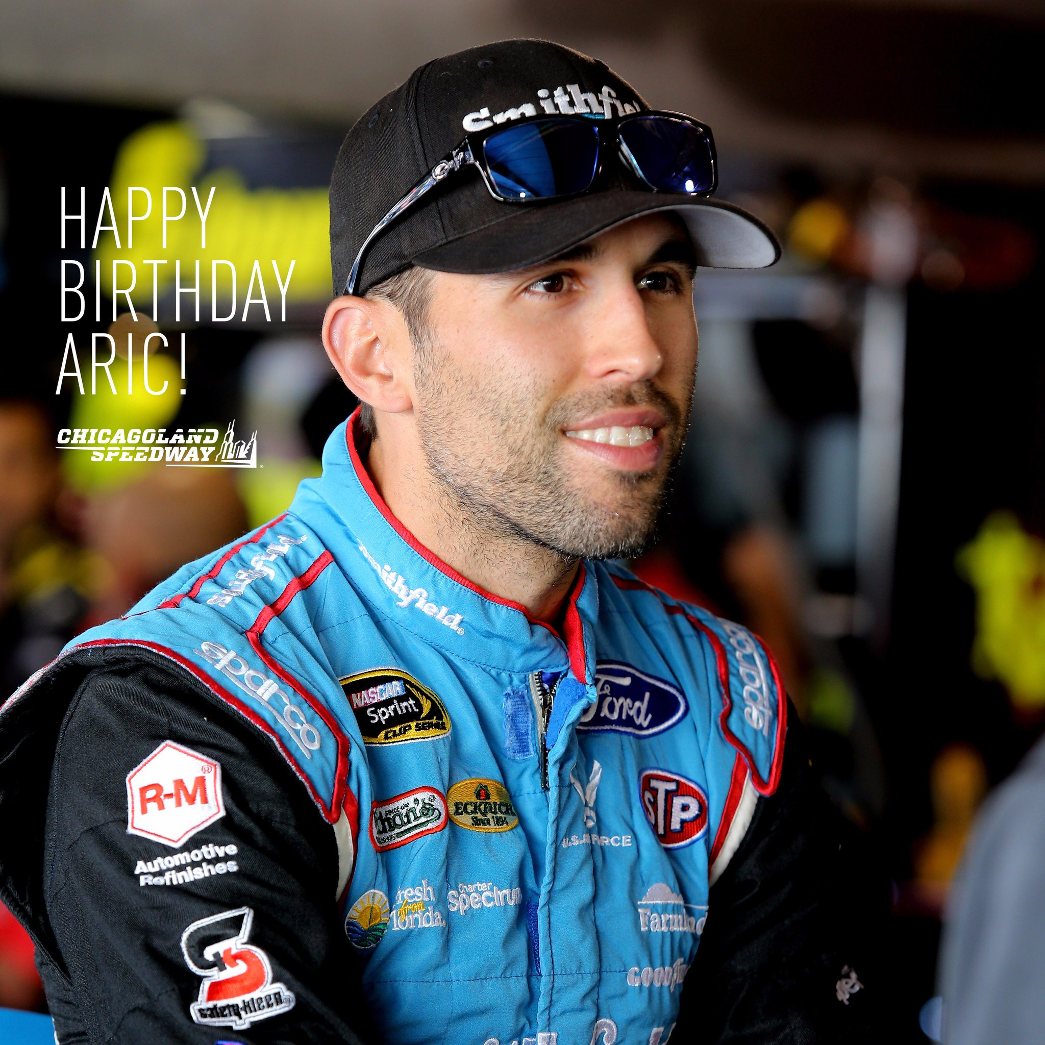 Help us wish the driver of the 43 a very HAPPY BIRTHDAY!  Have a great one,
