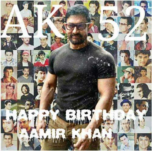 Wish you a very Happy Birthday again Mr perfectionist sir. Love you so much. Long Live Aamir khan.