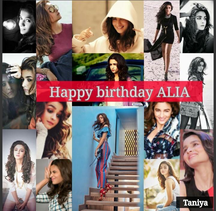 Happy birthday to the best person... love you....  HAPPY BIRTHDAY ALIA BHATT