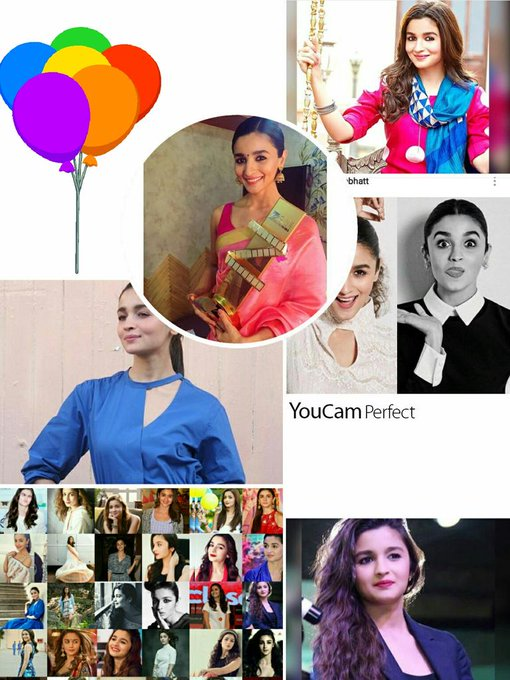 Happy Birthday my dearest Alia bhatt            Many many happy returns of the day Love you very much