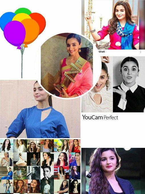 Happy Birthday my dearest Alia bhatt            Many many happy returns of the day Love you very much