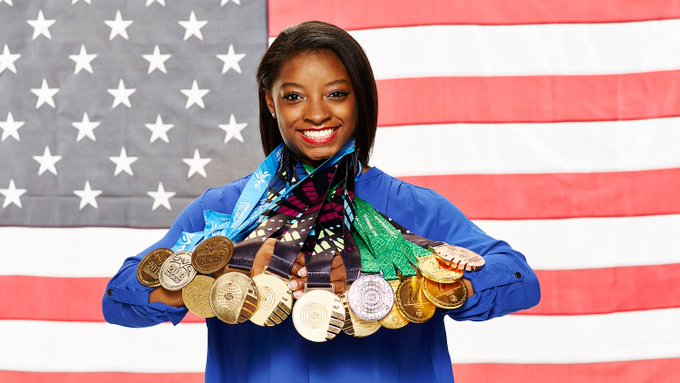 HAPPY BDAY SIMONE BILES!! Hope you have a great birthday!!