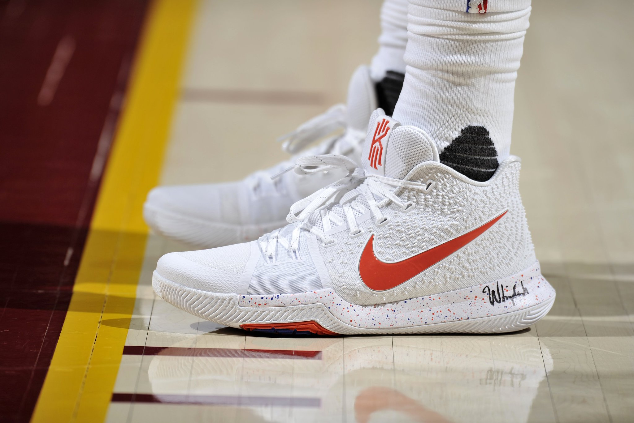 So fresh and so clean, clean.  #CavsPistons GALLERY: https://t.co/ZfYIJhQ15Z https://t.co/FHZImXIc1f