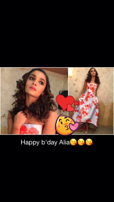Happy birthday to my love Alia Bhatt