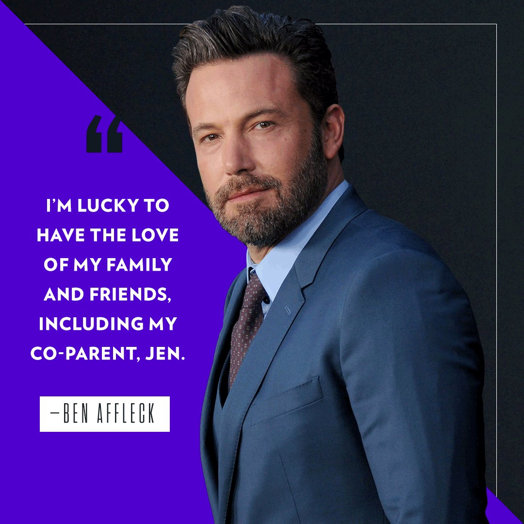 Ben Affleck reveals he has completed rehab for alcohol addiction ???