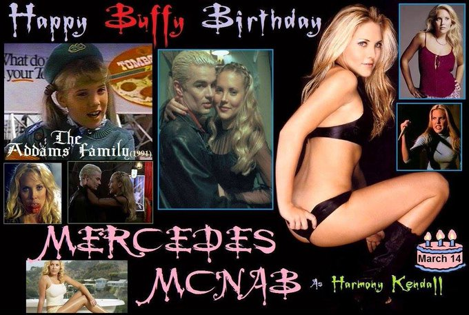 3-14 Happy birthday to Mercedes McNab.