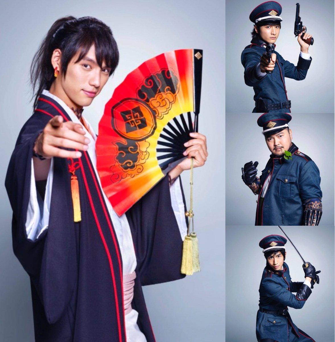 キャスト紹介映画「曇天に笑う」主演・福士蒼汰をはじめ、中山優馬、古川雄輝 他  豪華キャストで盛り上げます。