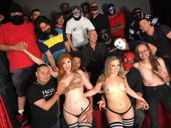 Thanks to the @Patriots all these dudes got #bjs today! #nojoke #teambj! @ClubCarmenXXX @LaurenFillsUp
