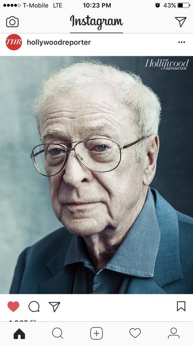 I love Michael Caine, HAPPY BIRTHDAY!