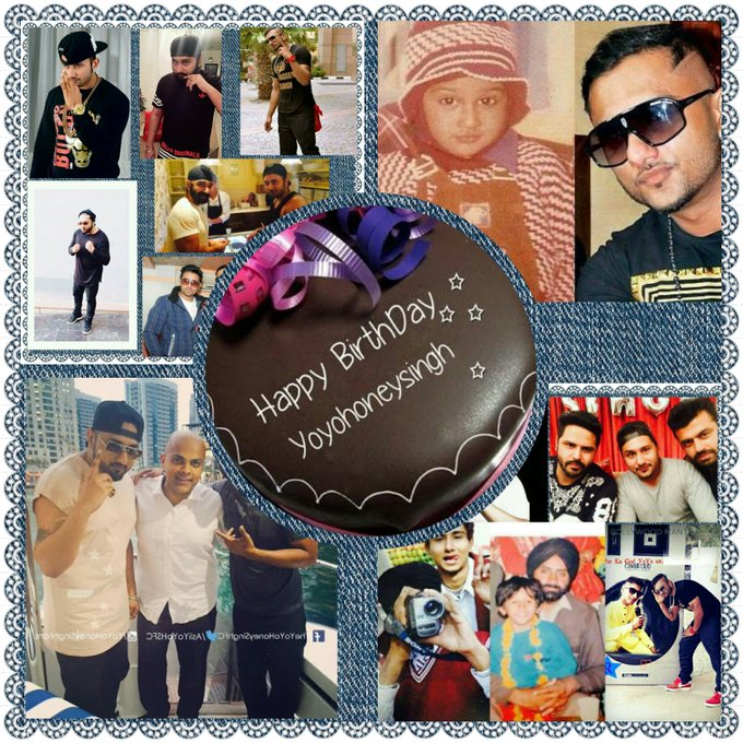 HapPy BirThDaY  YoYo Sir G. God Bless U  HipPop Ka Real King . My Rappers Ka God  YoYo Honey Singh .