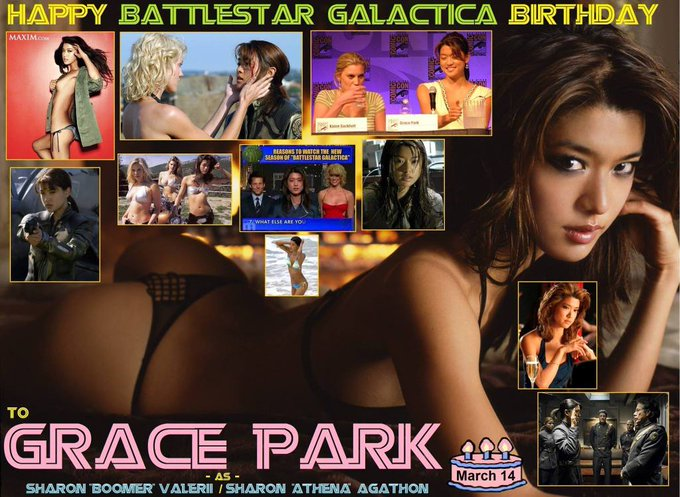 3-14 Happy birthday to Grace Park.