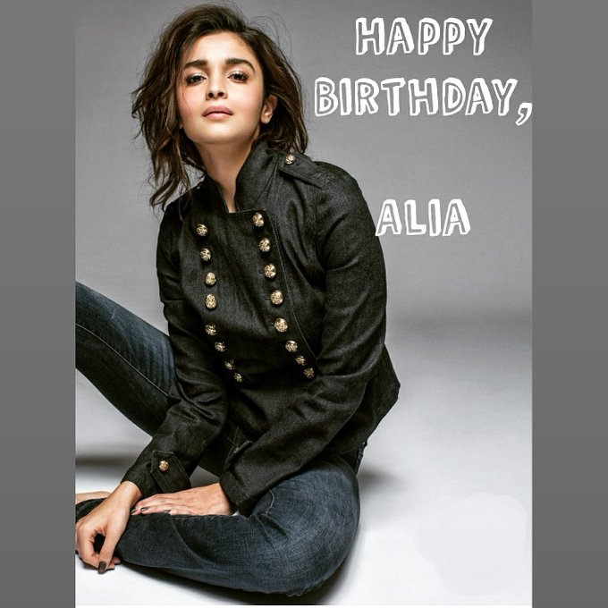 Happy Birthday. Alia Bhatt.   Keep smiling and entertaining!