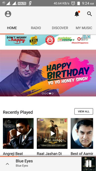 wish u A veRy HaPPy wALa BiRtHdAy my yo yo Honey Singh......