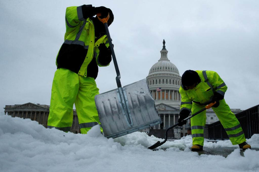 Tuesday's winter storm could chill an already weak economic growth forecast: